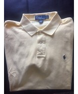 Ralph Lauren Men's Polo Rugby Shirt Yellow Sz XL - $15.99
