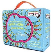 The Little Blue Box of Bright and Early Board Books by Dr. Seuss (Bright... - $9.20
