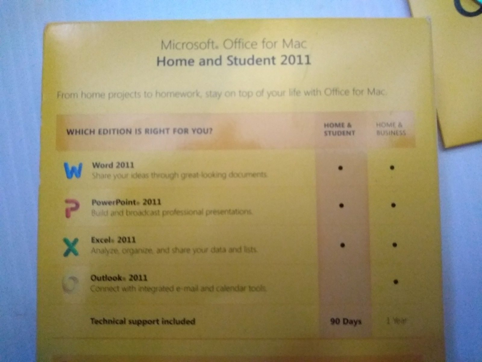 Microsoft Office MAC 2011 Home & Student DVD and 50 similar