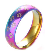 Tungsten Carbide Rainbow Ring With Paws - Price for one ring -   - $39.99
