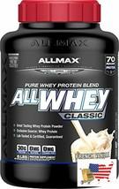 ALLMAX Nutrition AllWhey Classic Whey Protein, French Vanilla, 5 lbs - $80.16