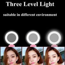 Selfie Stick LED Ring Light Stand 1.7M Extendable Monopod Universal Phones Mount image 3