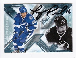 TEDDY PURCELL  AUTOGRAPHED CARD 2013-14 UPPER DECK TAMPA BAY LIGHTNING - $3.98