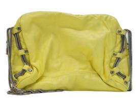 ALEXANDER WANG BRENDA Yellow Leather Crossbody Bag Purse Silver Hardware Dustbag image 7