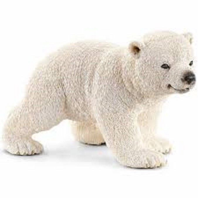 Primary image for # Polar Bear Cub walking 14708 sweet tough Schleich anywheres a playground<>