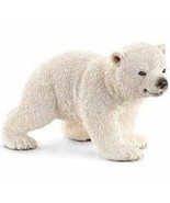# Polar Bear Cub walking 14708 sweet tough Schleich anywheres a playgrou... - $6.99