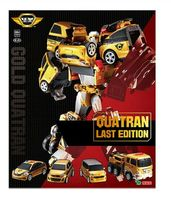 Tobot V Gold Quatran Toy Robot Transforming Transformation Action Figure image 3