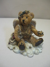 Figurine Boyds Bear & Friends Clarence Angel Bear With Star #2029-11 Retire 1993 - $7.95