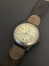 Vintage Milan Men White Analog Quartz Watch PARTS/REPAIR Untested - $30.00