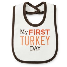 Carters Thanksgiving Bib for Boy or Girl Brand New - $10.00