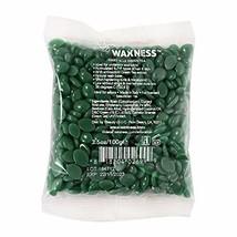 Wax Necessities Waxness Green Tea Hard Wax Beads Small Bag 3.5 Ounces