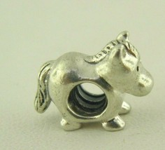 Pandora Sterling Silver Horse Bracelet Charm Bead  - $25.73