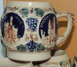 Antique Gerz Cider Cup Made in Germany Punch set Stein Mug Beer Vintage - $6.99