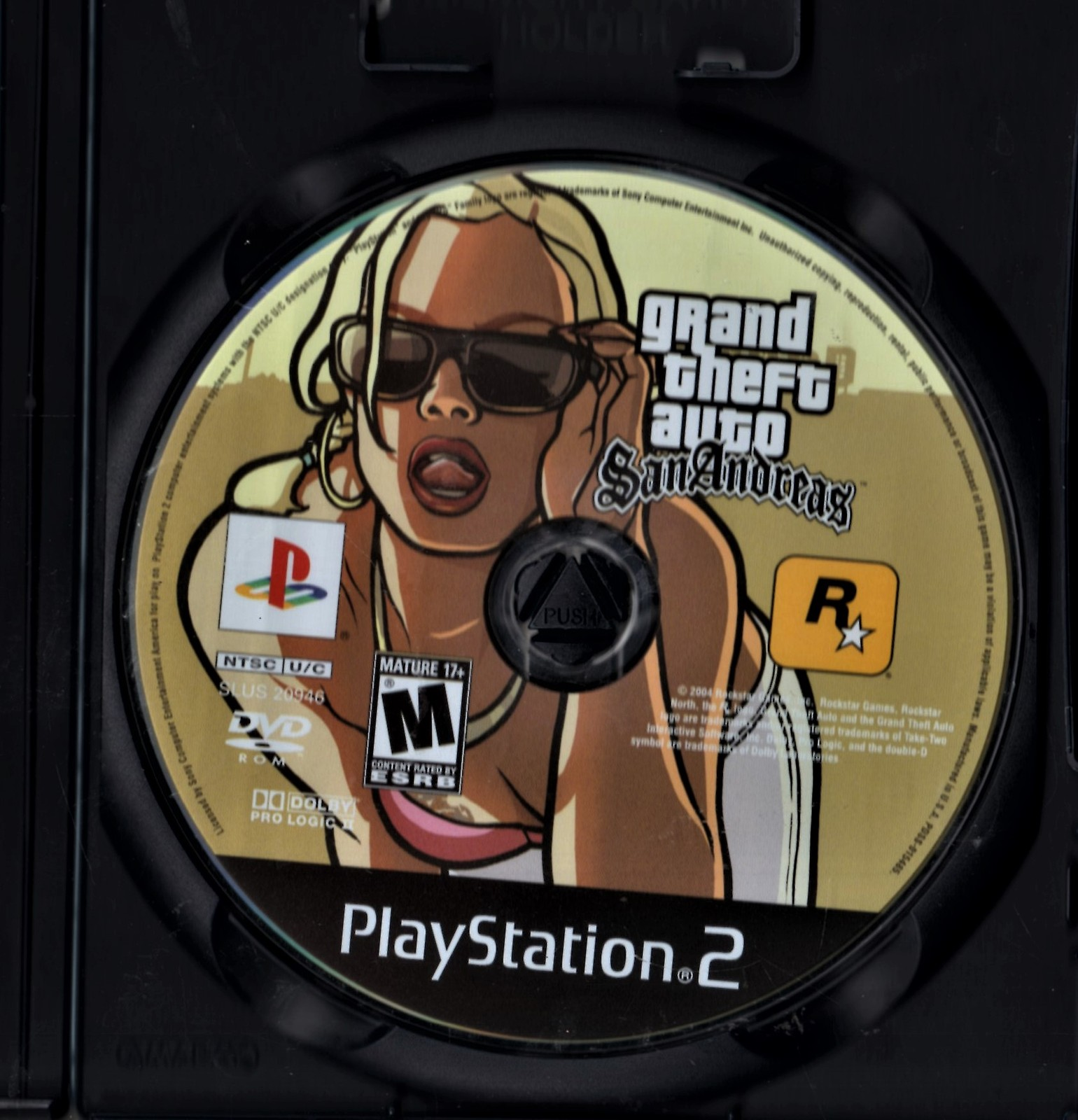 PlayStation 2 - Grand Theft Auto San Andreas