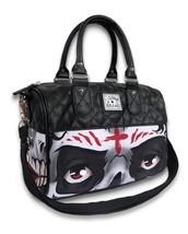 Liquor Brand Evil Damen Rund Handtasche Portemonnaie Tasche Undead Skele... - $51.36