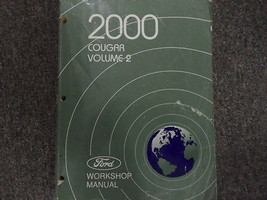 2000 MERCURY COUGAR Service Shop Repair Manual VOLUME 2 FACTORY OEM BOOK... - $34.60
