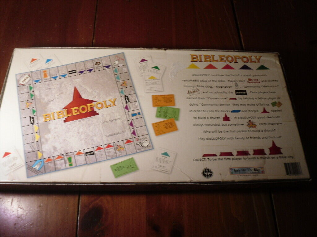 Bible-Opoly Christian Bible Based Board Game