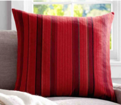"NEW NIP POTTERY BARN NEVA STRIPE PILLOW COVER -  24"" X 24 "" - $20.00"