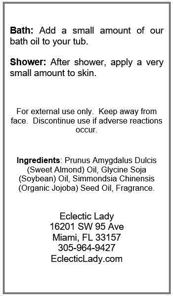 Absinthe Bath Oil