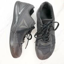 Reebok CrossFit Mens 10 M Black Nano Weave Training Shoes  - $48.36