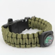 Survival Bracelets with Fire Starter Outdoor Self-rescue - One item (Color vary) image 2