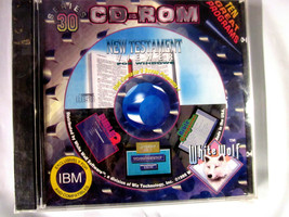 IBM 10 Games | Programs 1995 [Series 30] by White Wolf Software Rare NEW Sealed - $10.95