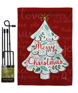 The Christmas Tree - Impressions Decorative Metal Garden Pole Flag Set G... - $27.97