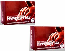 Hyper Gh 14x 2 Month Natural Boosts Strength From Workout L EAN Rock Hard Muscles - $119.98