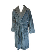 Terrytown Tahoe Microfleece Shawl Collar Robe Grey - $80.00