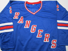 BRIAN LEETCH / NHL HALL OF FAME / AUTOGRAPHED N.Y. RANGERS CUSTOM JERSEY / COA image 2