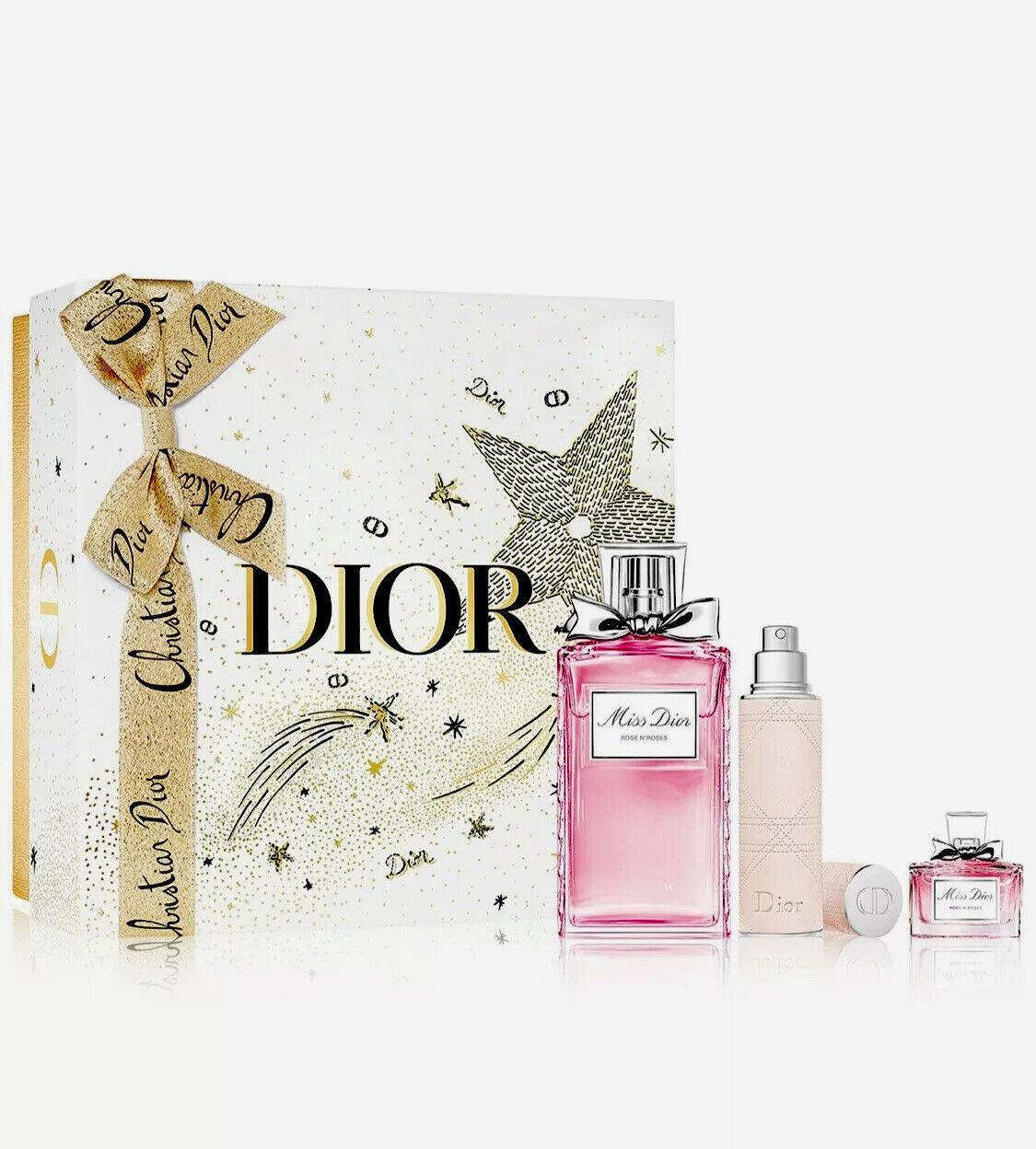 Christian dior miss dior rose n roses perfume set