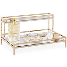 Beautify Mirrored Vanity Tray for Dresser Jewelry and Perfume Tray - Two... - $76.65