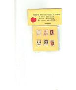 Vintage Dollhouse 1:12 Scale Miniature Baseball Cards Artisan Made 1980s - $29.00