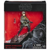 Star Wars Action Figure  Sergeant Jyn Erso Exclusive Rogue One Disney  - $9.86