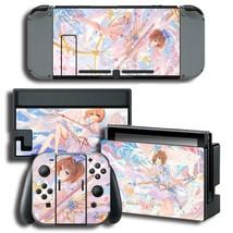 Nintendo Switch Console Dock Vinyl Skin Stickers Anime Girl Cardcaptor Sakura - $9.70