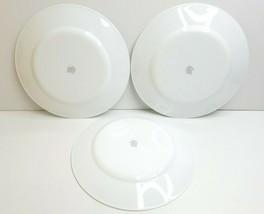 "3 Corelle Nouveau 10.75"" Corning Retro Black Gray Scrolls Stylish Dinner Plates - $39.27"