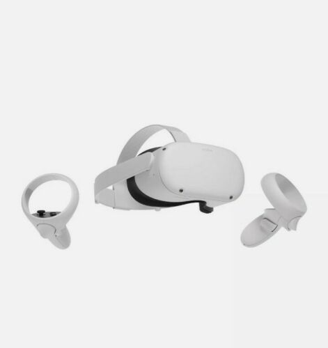 NEW Oculus Quest 2 256 GB All-in-One VR Headset Left+Right Controllers