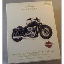 Hallmark 2008 XL 1200N Sportster 1200 NightsterTM 10th in Series 2008 Ke... - $22.39