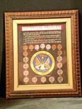 WARTIME COINAGE FRAMED Collectible Coins WWII Era AA19-CN6037 image 7