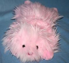 "Ty Stuffed Animal Pinkys Classic LIL GLOSS DOG 15"" Pink Plush 2004 Lying... - $11.55"