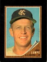 1962 Topps #305 Jerry Lumpe Vgex (Wax) Athletics Uer *XR22102 - $1.50
