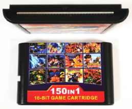 150 in 1 Game Cartridge 16BIT MD Game Card For Sega Mega Drive for PAL and NTSC - $25.25