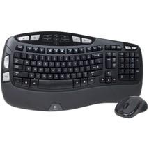 Logitech Wave MK550 Desktop Wireless Multimedia Keyboard & LaserMouse Ki... - $970,60 MXN