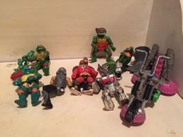 Playmates Toys /mirage Early 90s Late 80s Teenage Mutant Ninja Turtle Fi... - $38.69