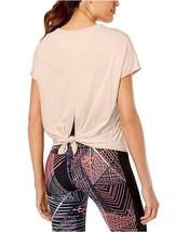 Calvin Klein Performance Relaxed Tie-Back T-Shirt Women's Beige M, 4648-3 - $13.88