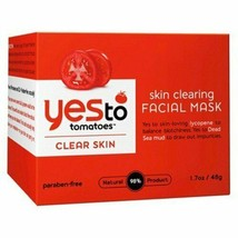 Yes To Tomatoes, Skin Clearing Facial Mask, 1.7 oz Acne Clear Skin    - $12.19