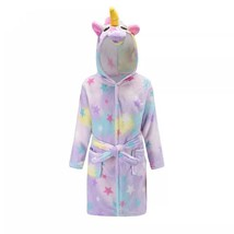 Girls unicorn robe pajamas clothes - $19.45