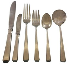 Craftsman by Towle Sterling Silver Flatware Set For 12 Service 79 Pieces - $4,037.50