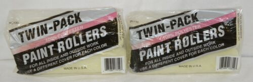 Generic RC133 Twin Pack Polyester Paint Roller Covers 9 Inch 2 Bags