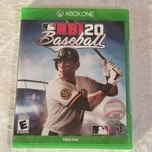 MLB RBI 20 Baseball Microsoft Xbox One Game New  - $27.71
